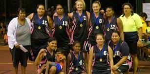 2015 Women's Boab Basketball Champions-Derby Rebel Tarts