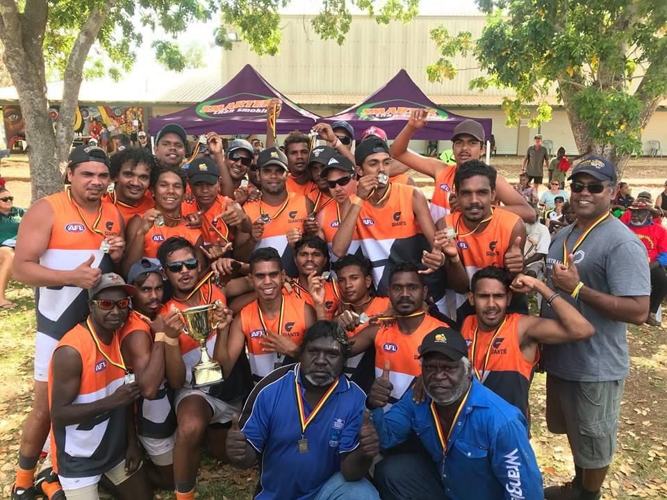 Garnduwa Festival 2018 Joe Brown:McPhee Cup Champions 8 Mile Giants.jpg