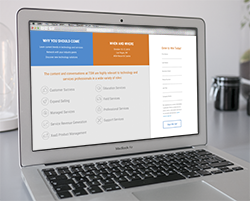 Landing Pages - Get leads by letting prospects know exactly why they're there and what you'd like them to do.