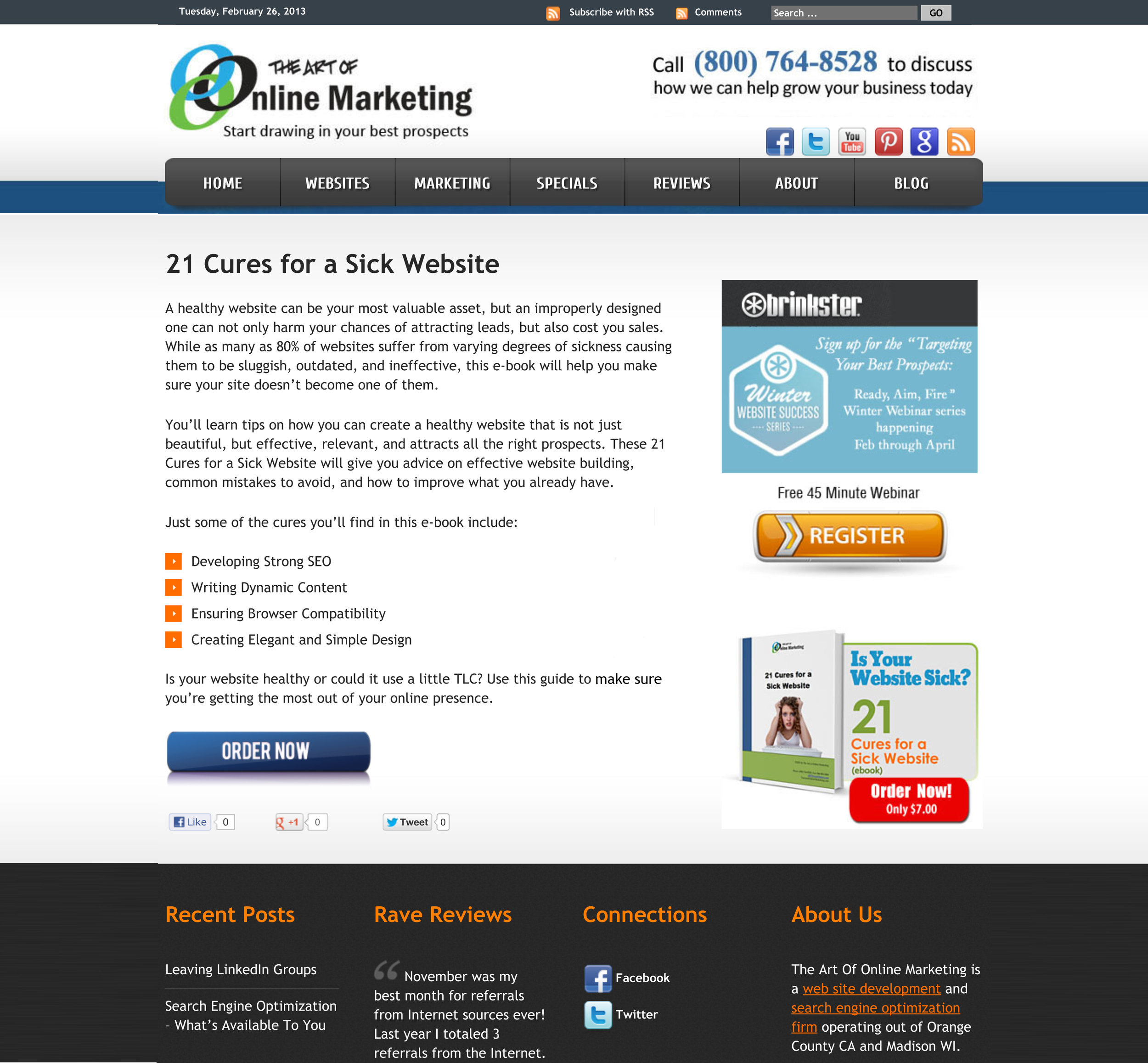 Client: The Art of Online Marketing Industry: Marketing agency Details: Short copy to describe and sell a downloadable asset