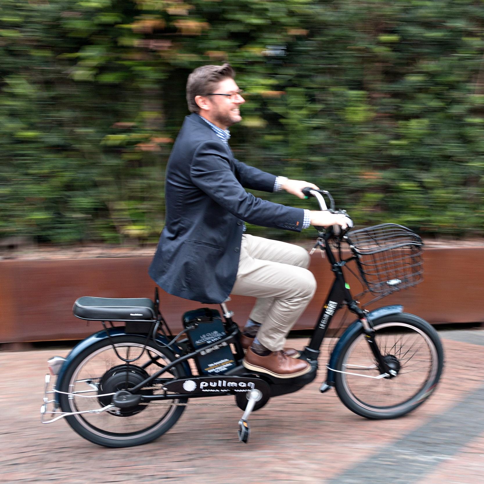 Energy Bike - Bike Elétrica como experiência diferenciada no restaurante TasteIt Food & Lounge