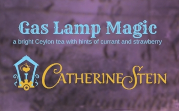 Gas Lamp Magic, a bright Ceylon tea with hints of currant and strawberry