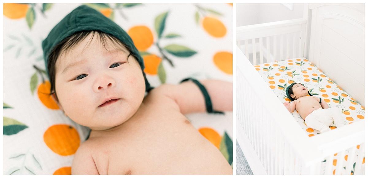 lifestyle newborn photographer, orange county family photographer