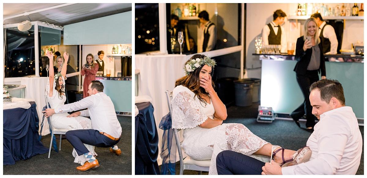 electra cruise wedding, newport beach wedding, yacht wedding
