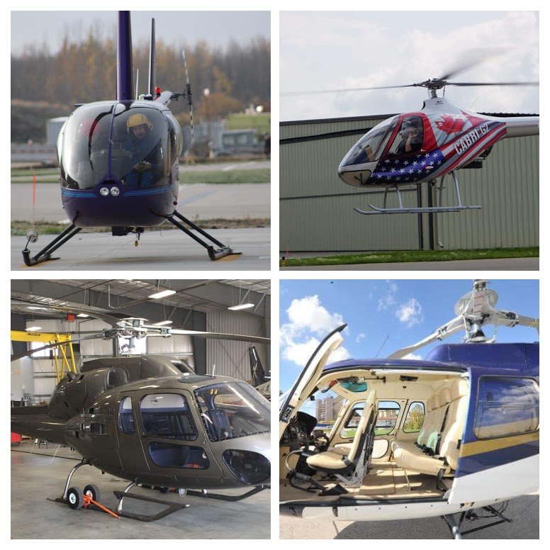 Helicopter Endorsements - Our instructors have training experience on over 20 different helicopter types. Whether you need an endorsement or recurrent training, we can help.