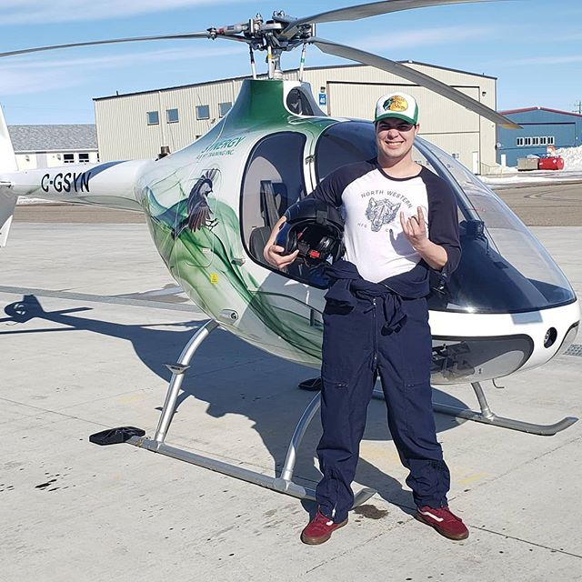 Shout out to Tanner for passing his commercial helicopter flight test! We'll done Tanner! #helicoptertraining #flighttraining  #flighttest #currentawesomehelicopterpilot #guimbalcabrig2