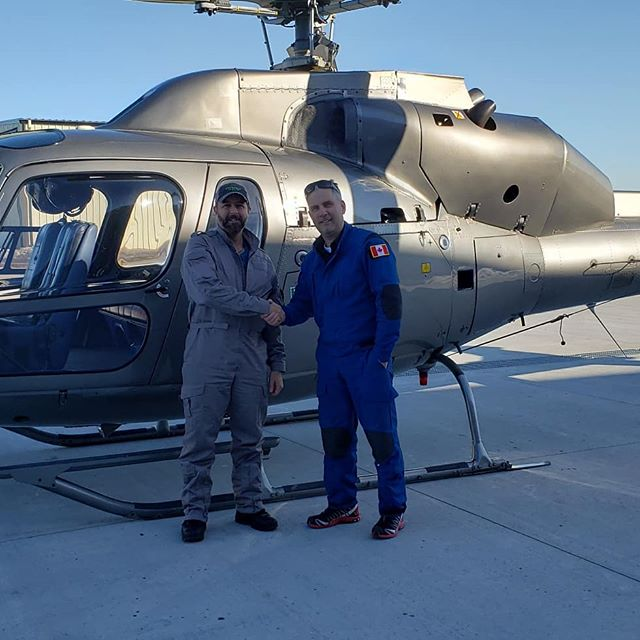 Congratations Steve (one of our recent graduates) for finishing his course with 3 endorsements!! Cabri G2;  R44 and Twinstar. #helicopterflightschool #helicoptertraining #currentawesomehelicopterpilot