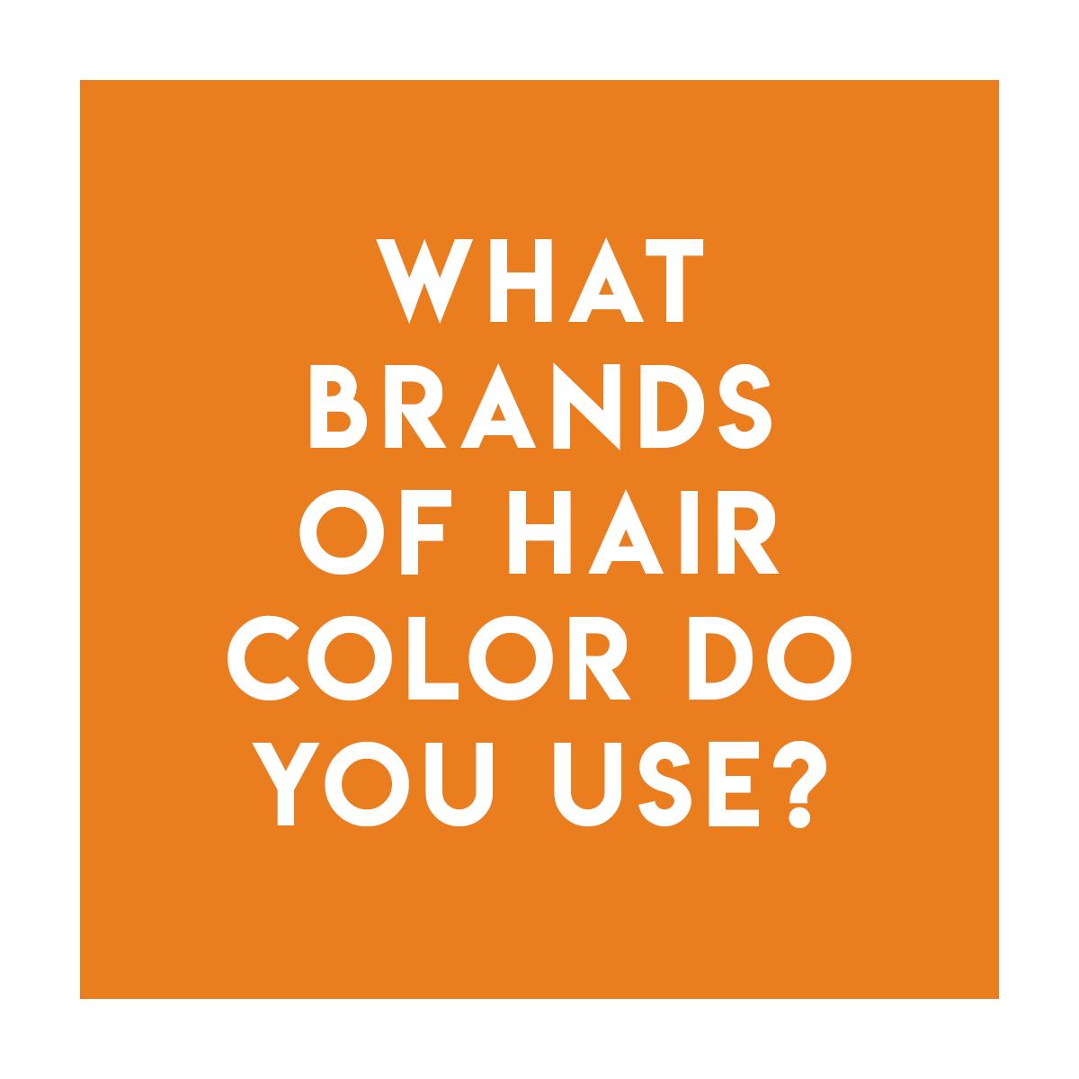 Color - L'Oreal ProfessionalDia RichesseDia LightInoa (Ammonia Free)MajirelColorfulGoldwellTopChicColorance