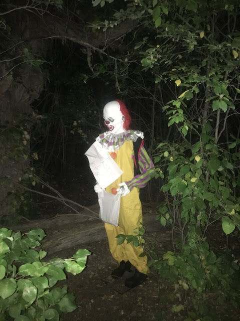What would you do if you ran into this guy in the dark woods!