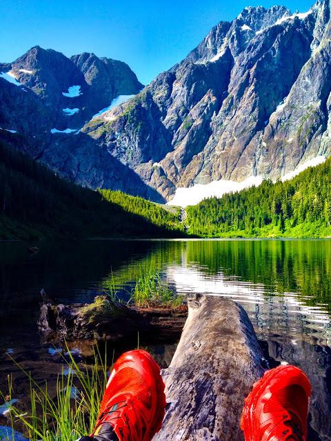 Colonel Foster and Landslide Lake via the Elk River Trail