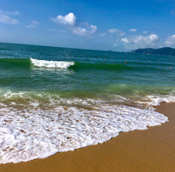 Cooling waters of Busan