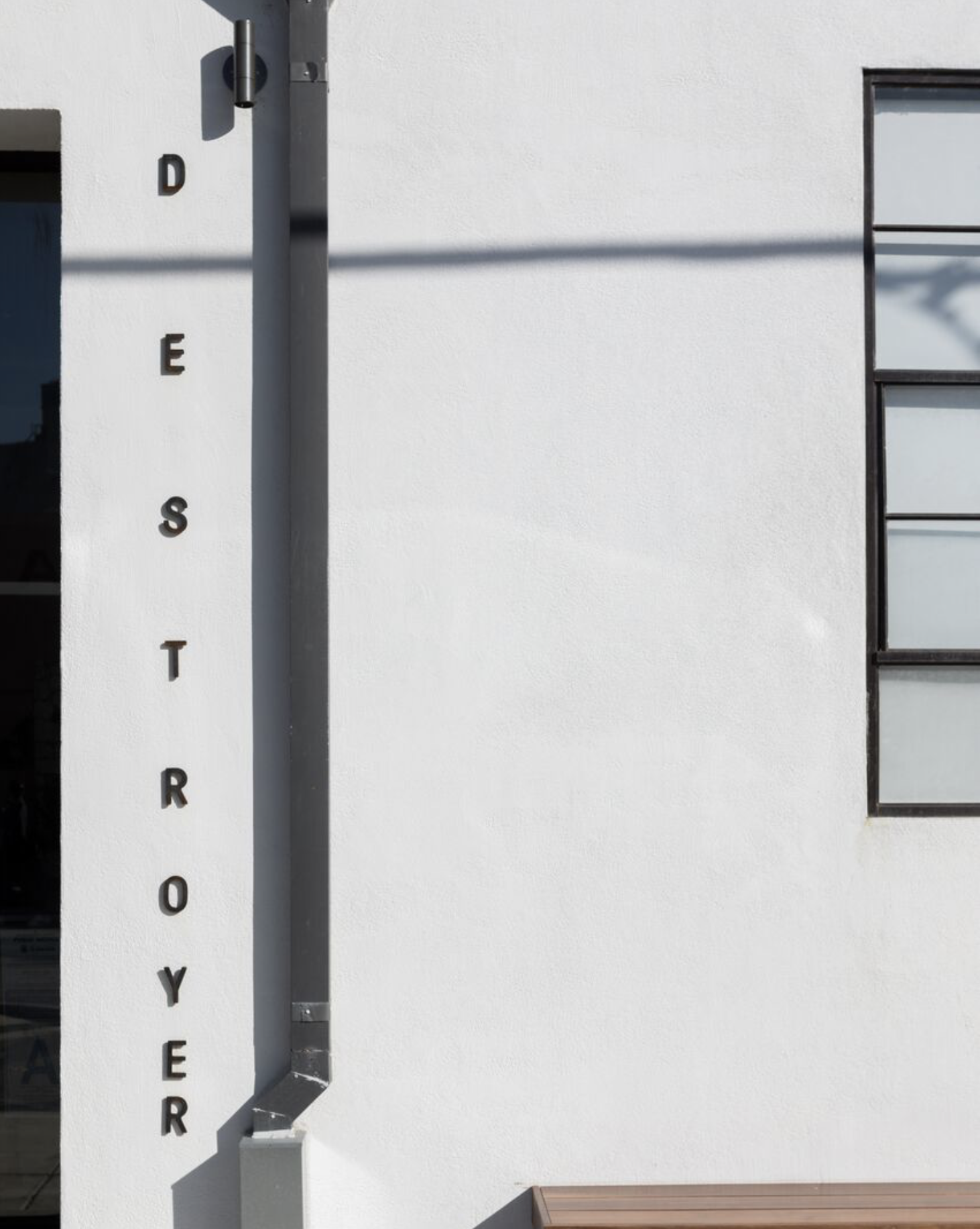 Destroyer is located in Culver City's Hayden Tract, an industrial zone turned design district.