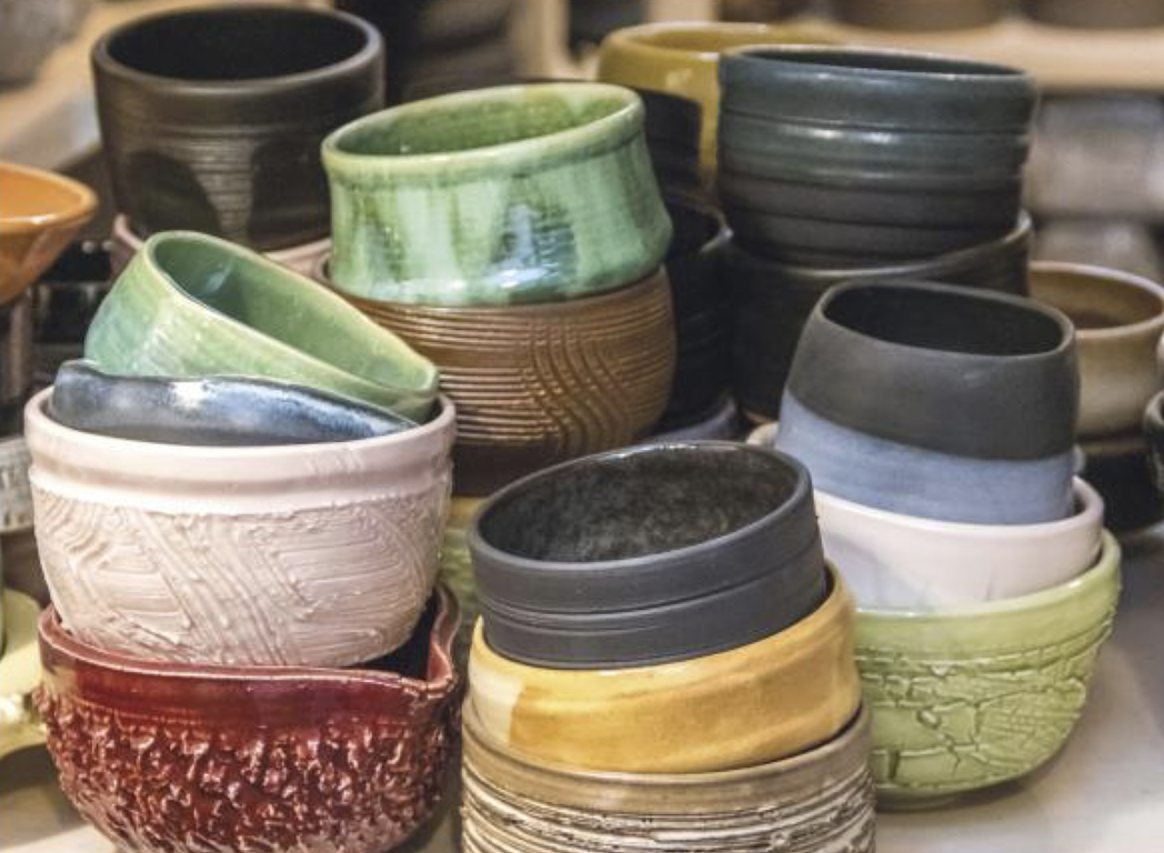 Ceramic Vessels by Match Stoneware. Located at the Match Stoneware Studio in Culver City, CA.