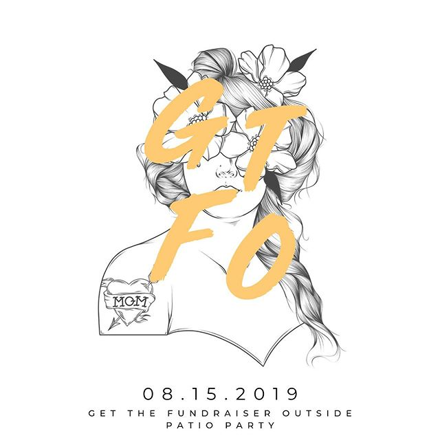 We're BACK! Save the date, Thursday August 15th, for our 2nd annual Get the Fundraiser Outside Patio Party at @hudsonspubyql 🎉 This years proceeds will support the greatest needs of the Neonatal Intensive Care Unit at the Chinook Regional Hospital. More details to come #gtfo #girlgangyql #bekind 🎨: @senor.rooster