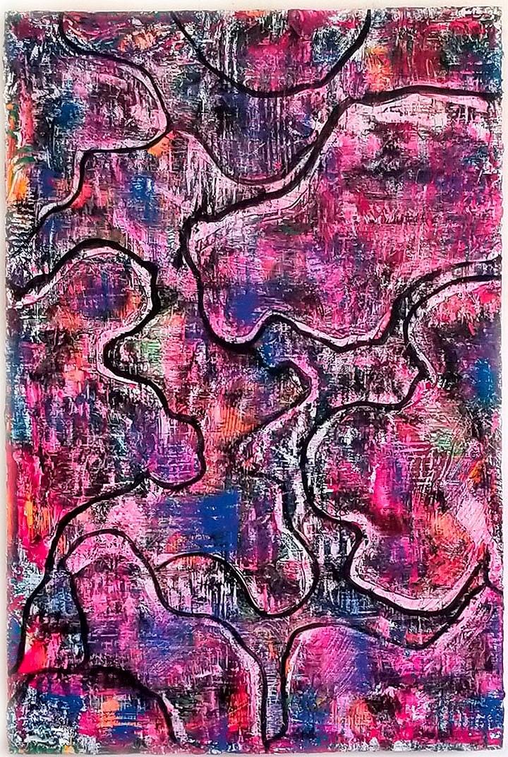Snake Skin 24'' x 36''