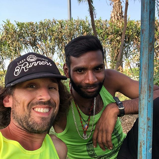 This is Bulbir. We were roommates along this journey. He also destroyed the 200km course in some crazy insane time. He's our course champion. Quiet confidence. Lion.