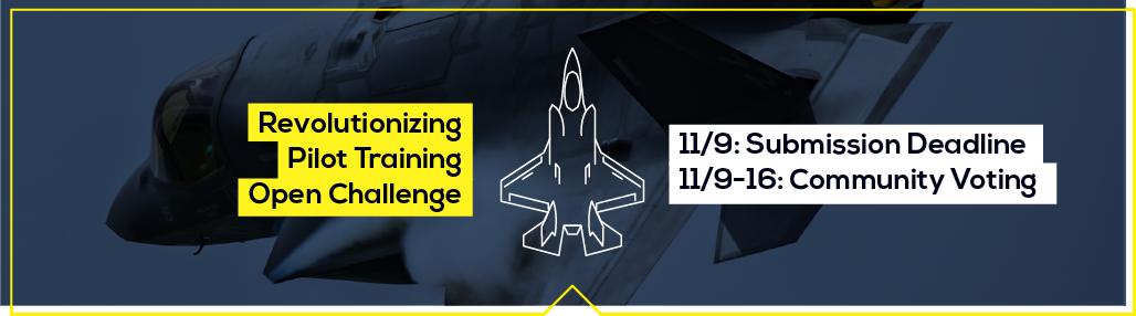 AFWERX Revolutionizing Pilot Training Open Challenge