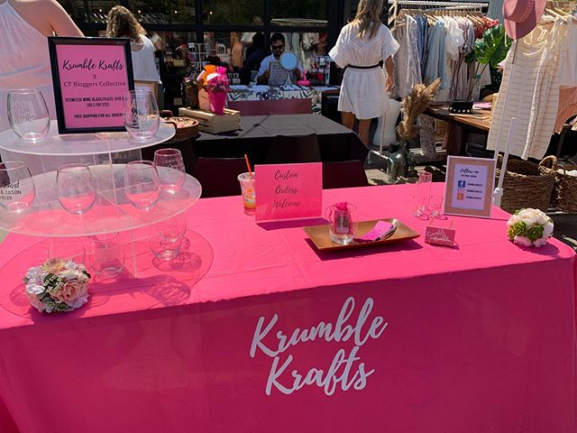 Had such a great time at @ctbloggerbabes CT Bohemian Festival! Left with some goodies!  #krumblekrafts #supportlocalbusiness #supportsmallbusiness #ctblogger #ctbloggerbabes