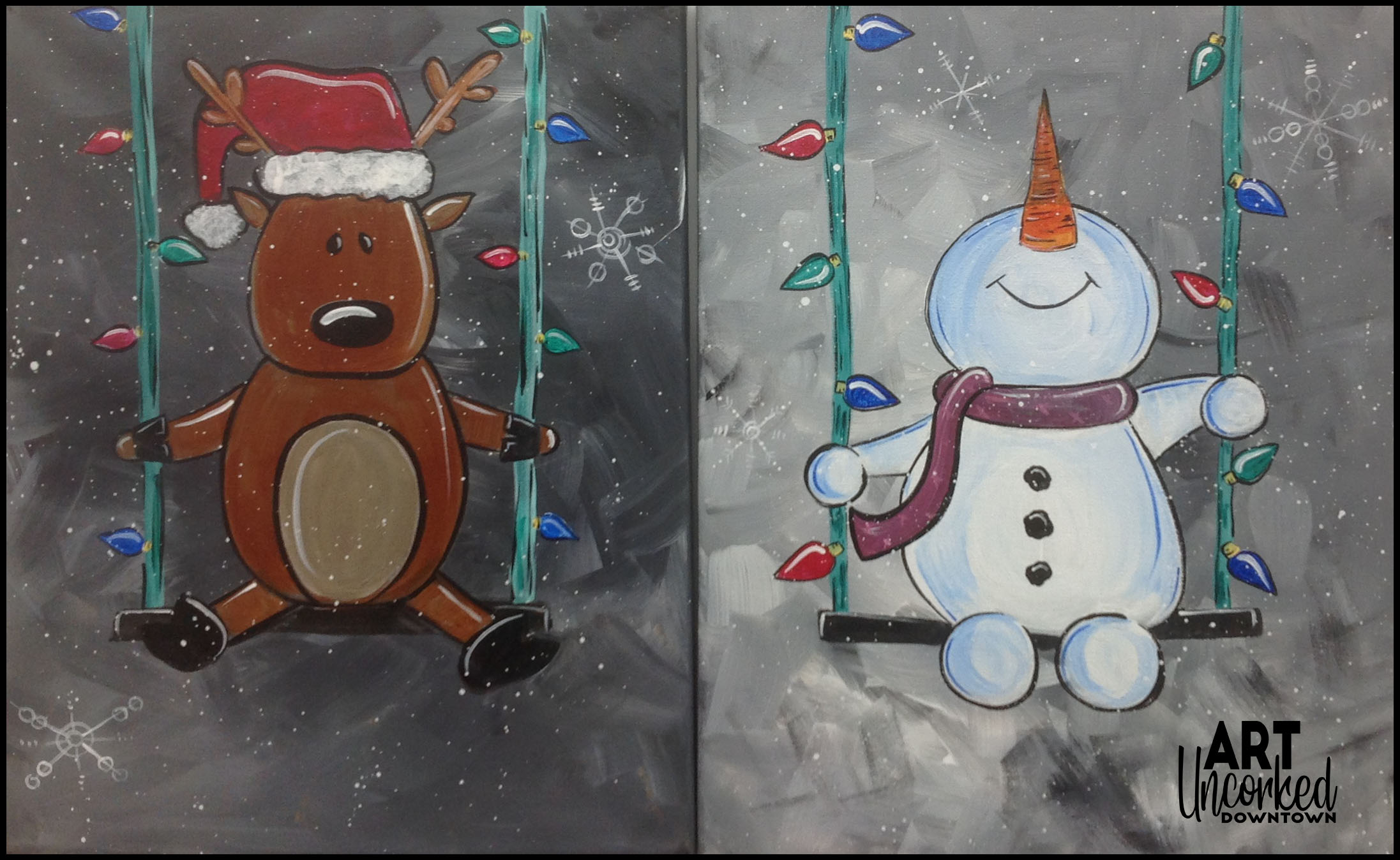 winter swinging winter snowman reindeer.jpg