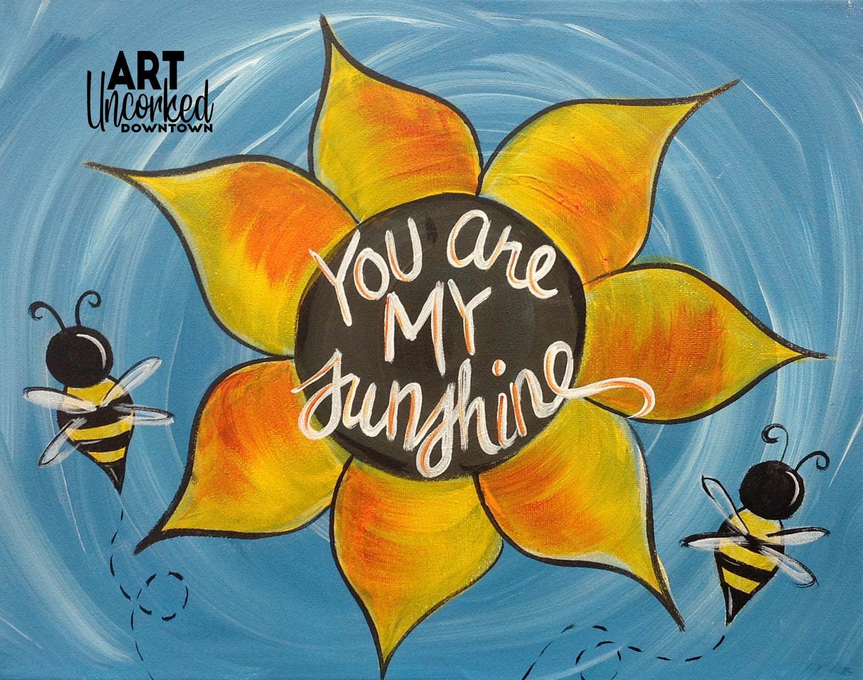 summer Sunflower and bees.jpg