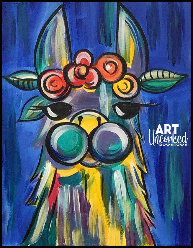 abstract animals llama.jpg