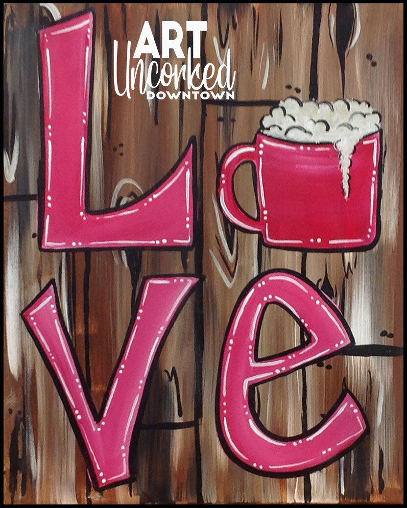 reg- wood background LOVE Coffee mug.jpg