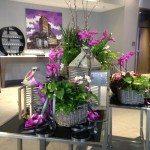 Centerpieces courtesy of Linden Hills Florist - Anne Schultz