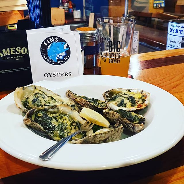 Great appetizer after a long day on the water. Excited to announce #delawaresalts will be on the oyster board for Labor Day weekend @finsalehouse.