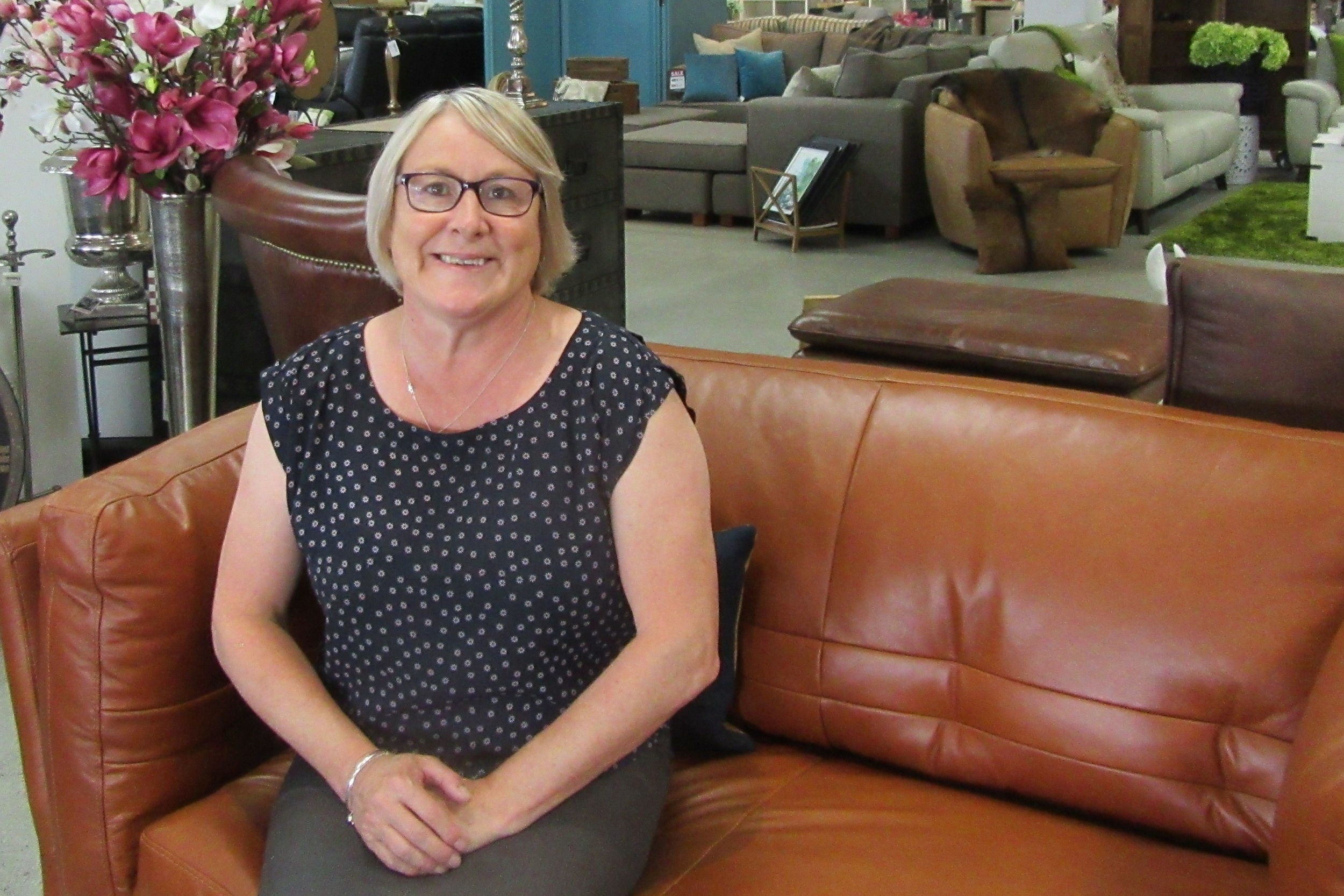 Bev McNaughten - Come in and see us at homeward. We have so much to offer and we look forward to sharing what we do with you.