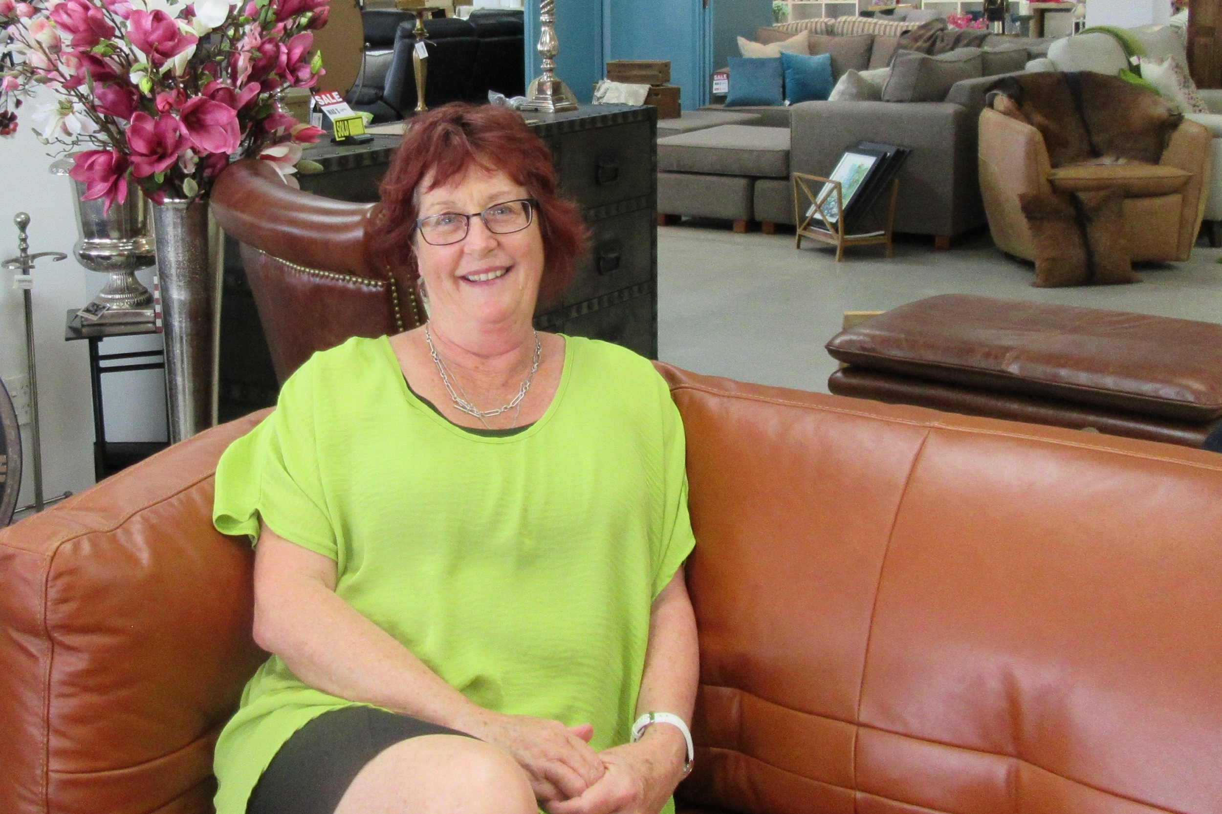Kay Hodges - With all our new eclectic designer pieces coming through, I am eager to help you make great decisions on the look for your home.