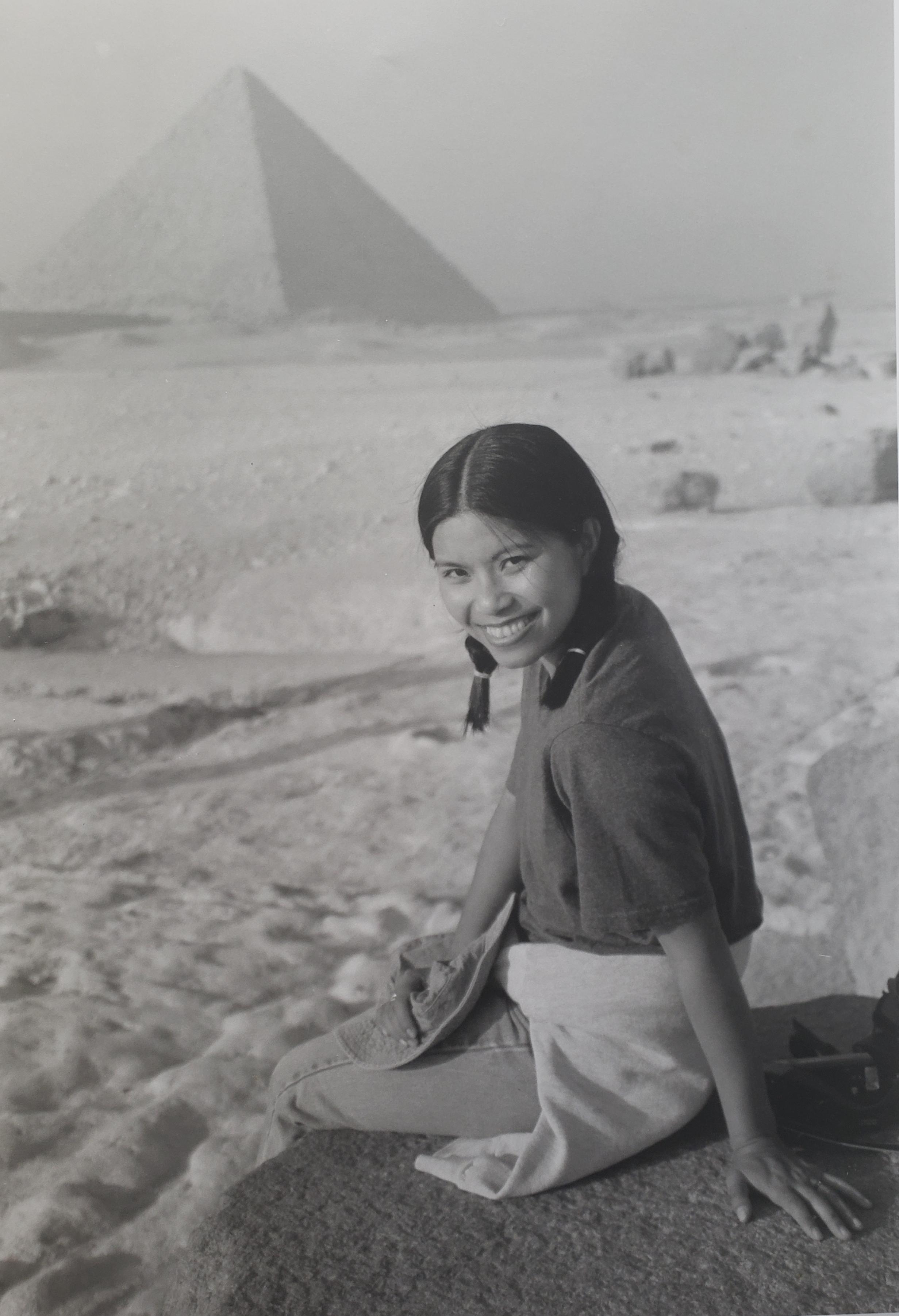 """""""Great Pyramid of Giza"""", Cairo, Egypt, 1999"""