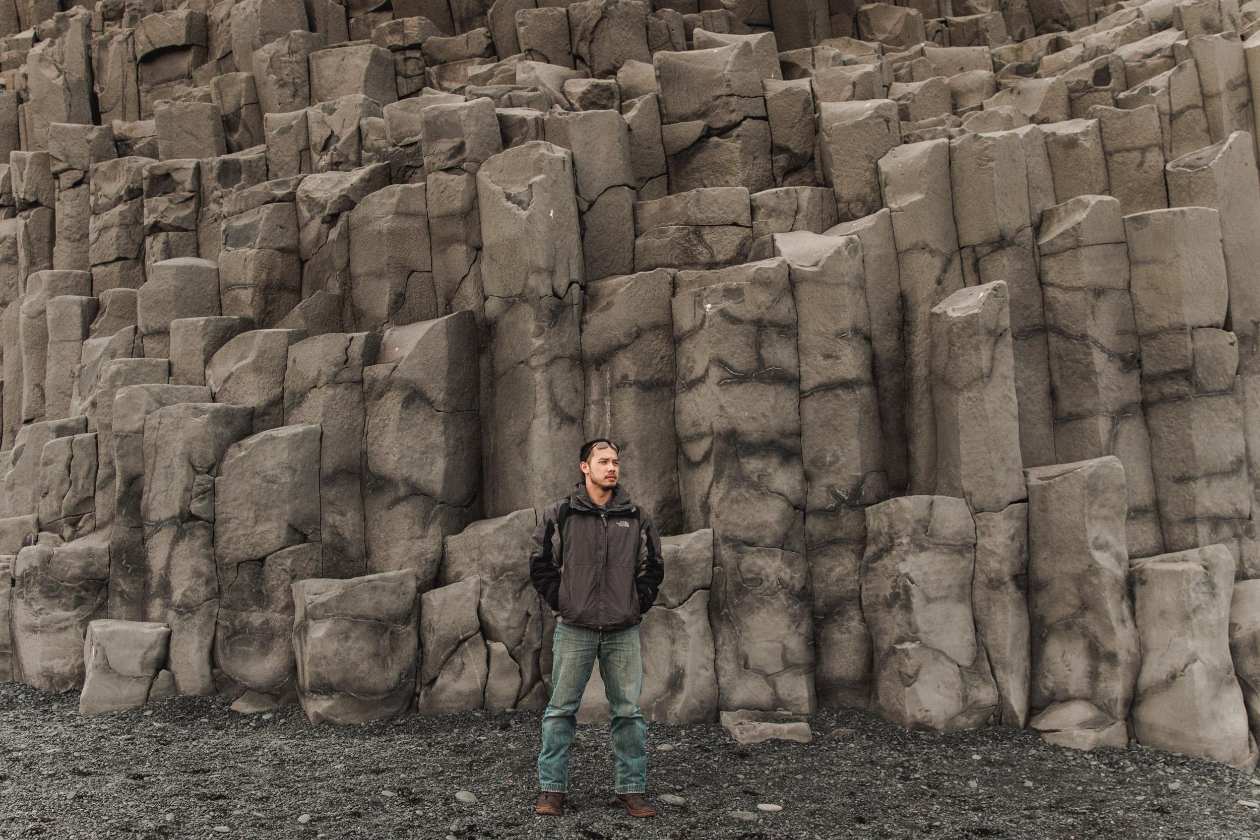 """""""  Basalt Columns """", Vik, Iceland, 2017"""