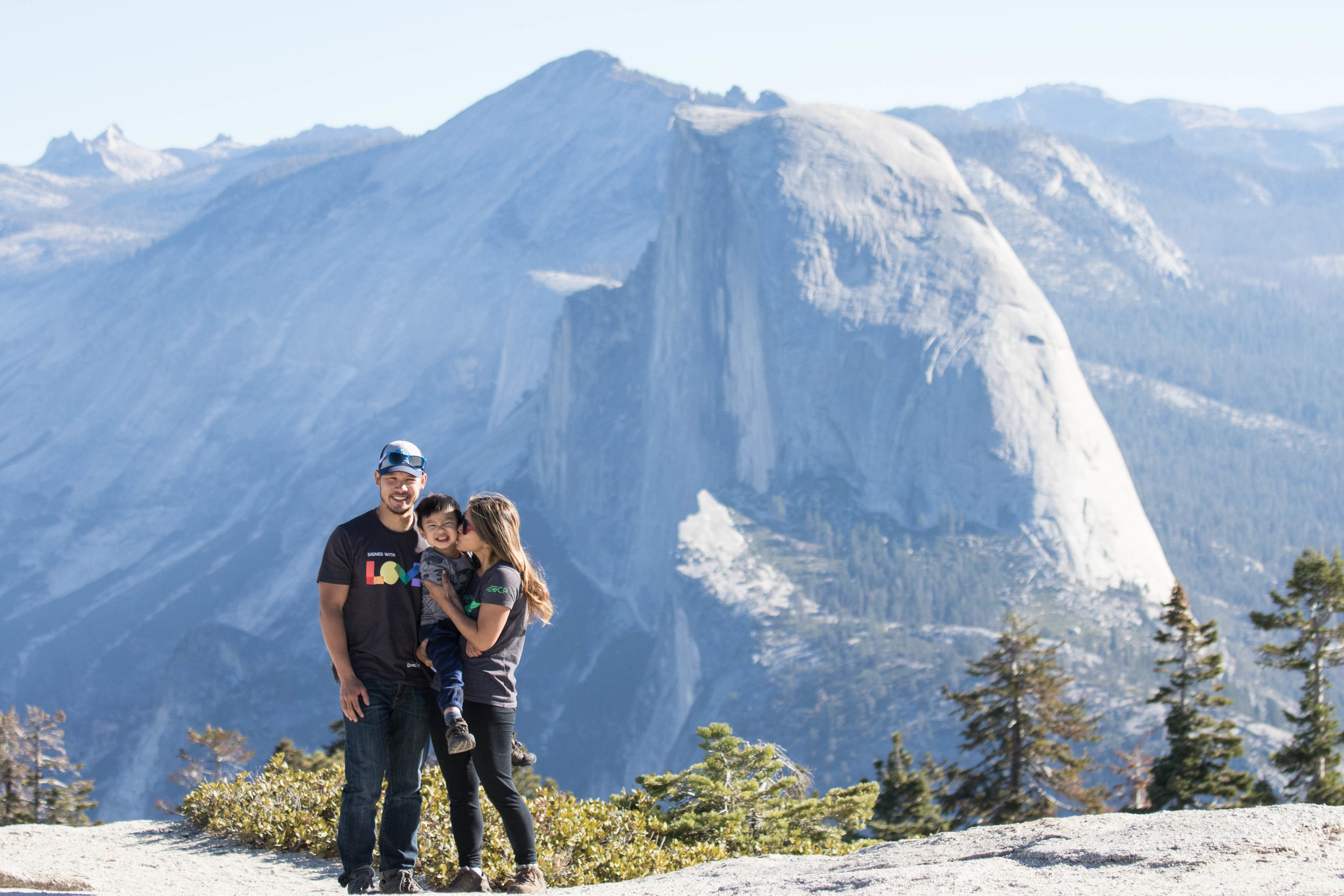 Sentinel Dome in the morning -