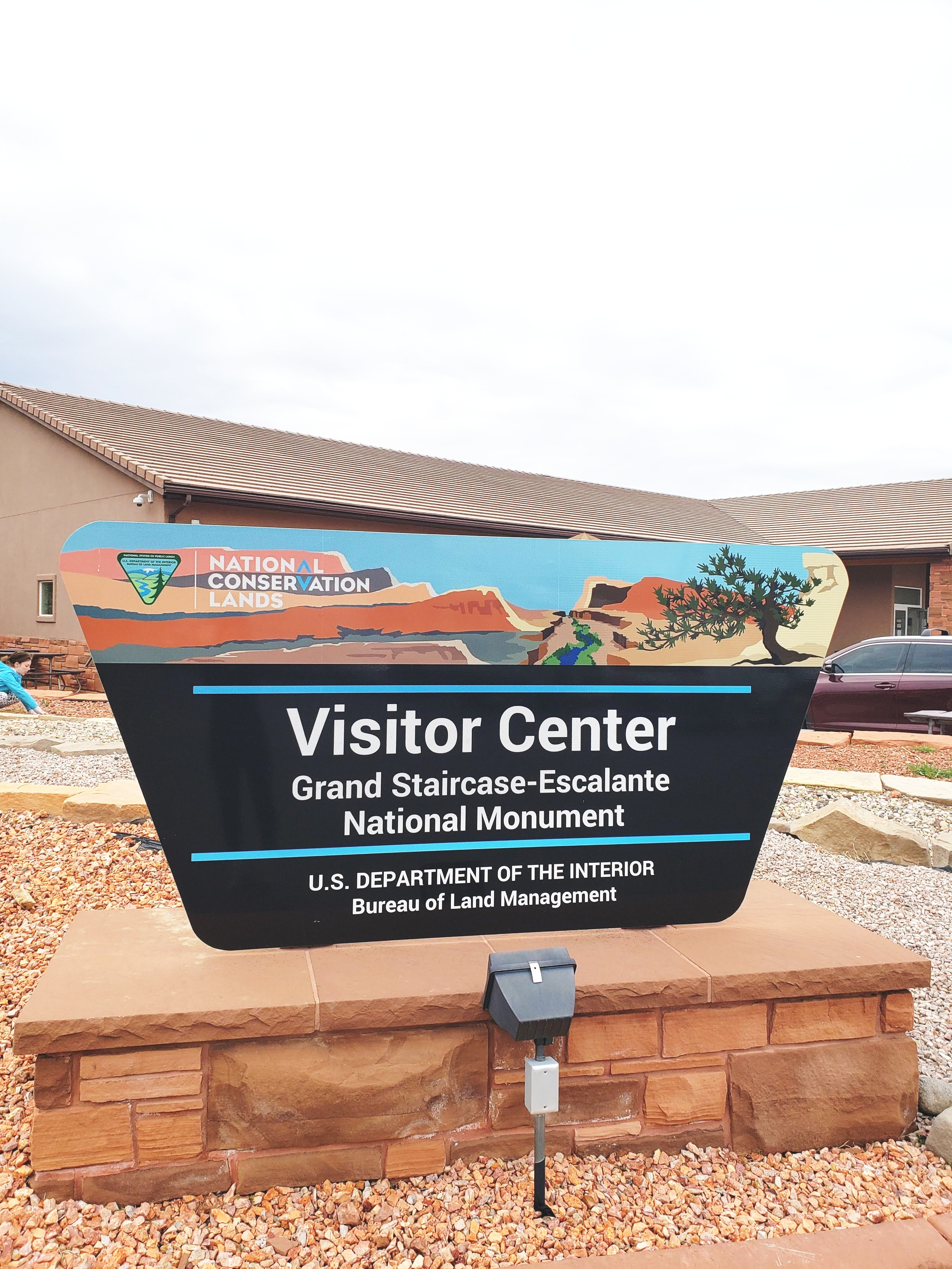 FYI : if you google it, it will say BLM Visitor Center in Kanab on google maps but it is the visitor center for Staircase Escalante Visitor Center.