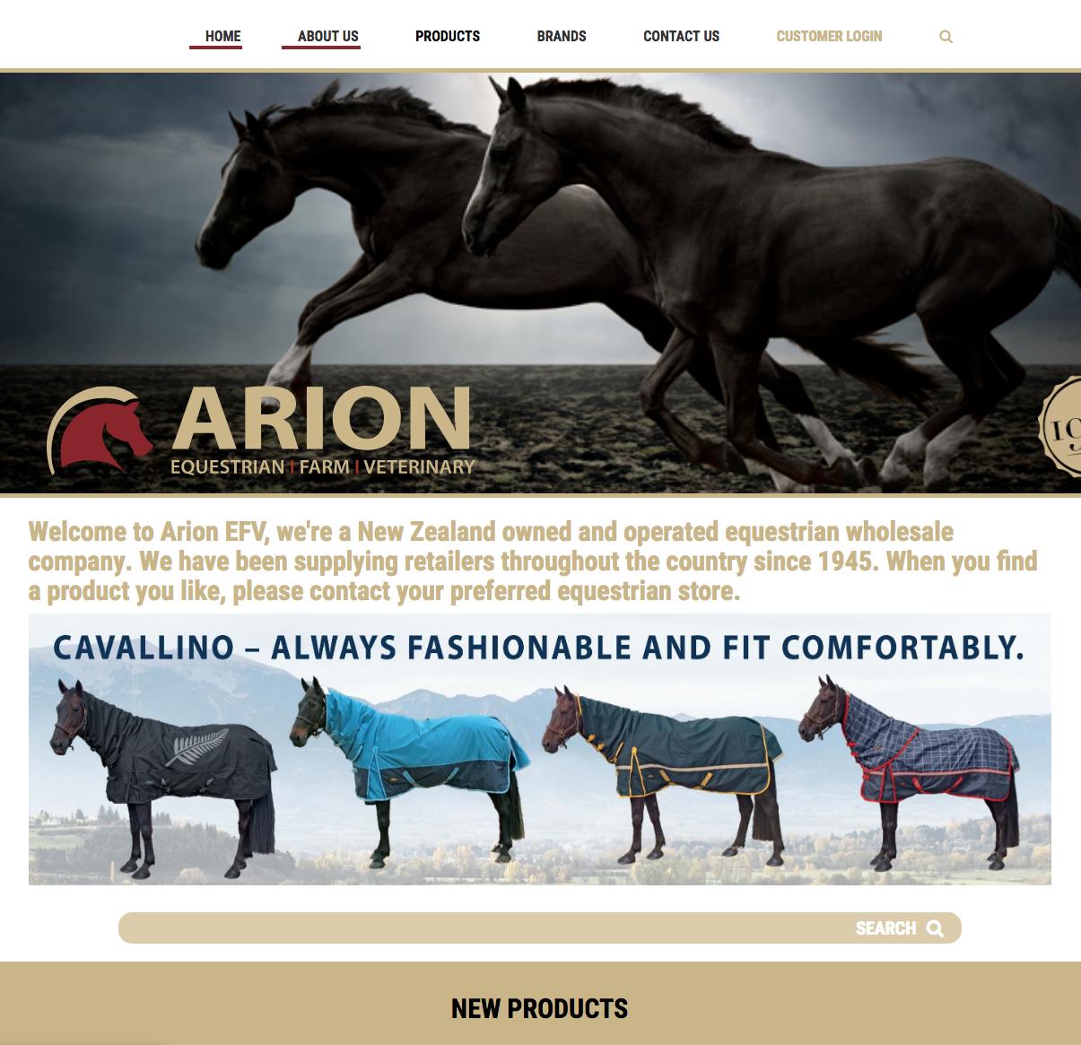 ARION EFV - HORSE GEAR