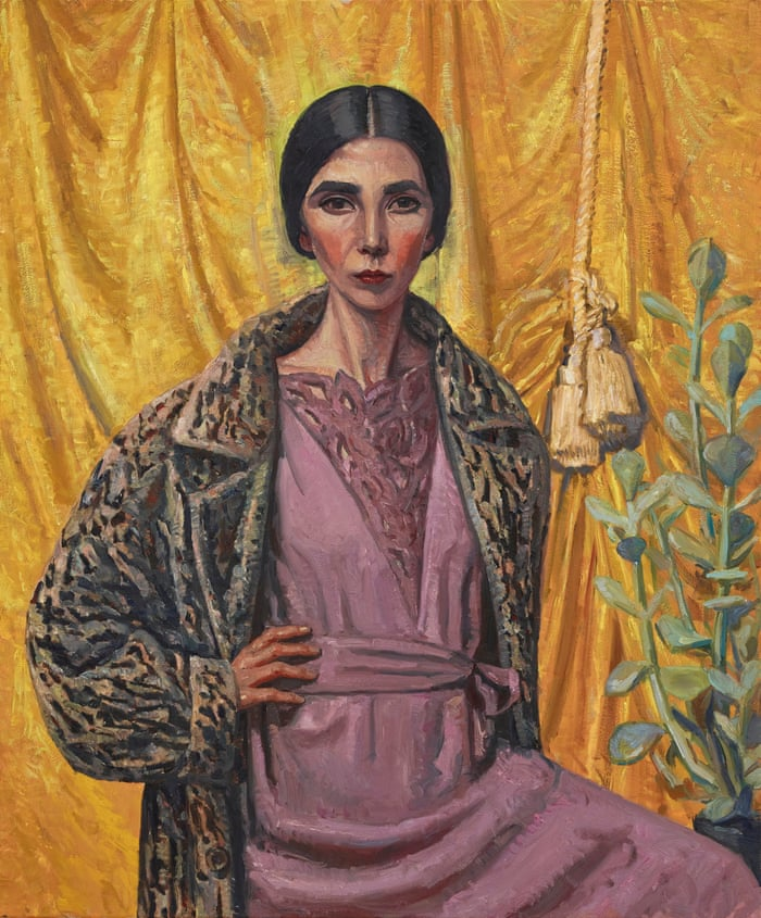 This year's    Archibald Prize Winner    is Yvette Coppersmith for her self-portrait and tribute to her favourite artist George Lambert.