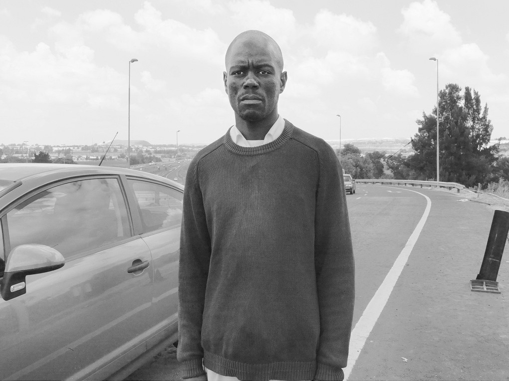 Here, in 2005, Goodman Nhlanhla Hlope smashed a car window with a spark plug to steal a woman's handbag and cellphone. Maraisburg, 18 February 2010
