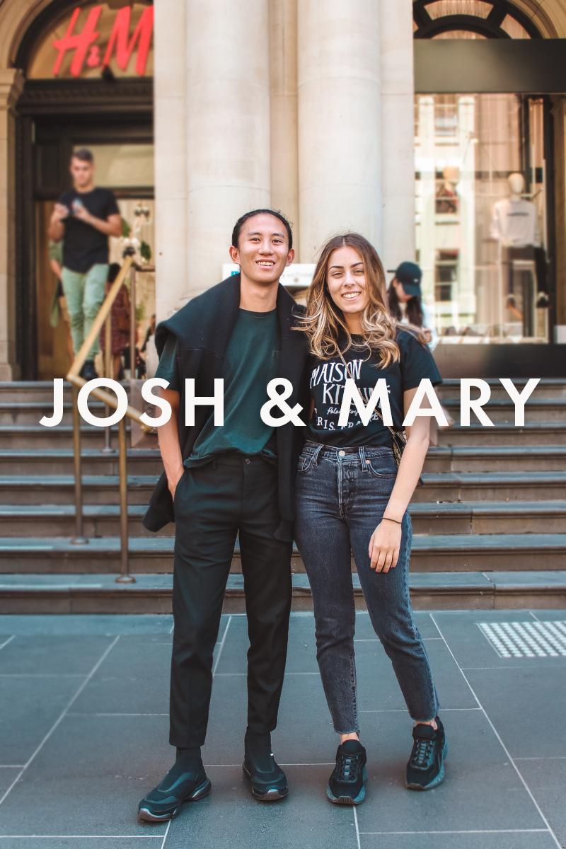 Josh & Mary