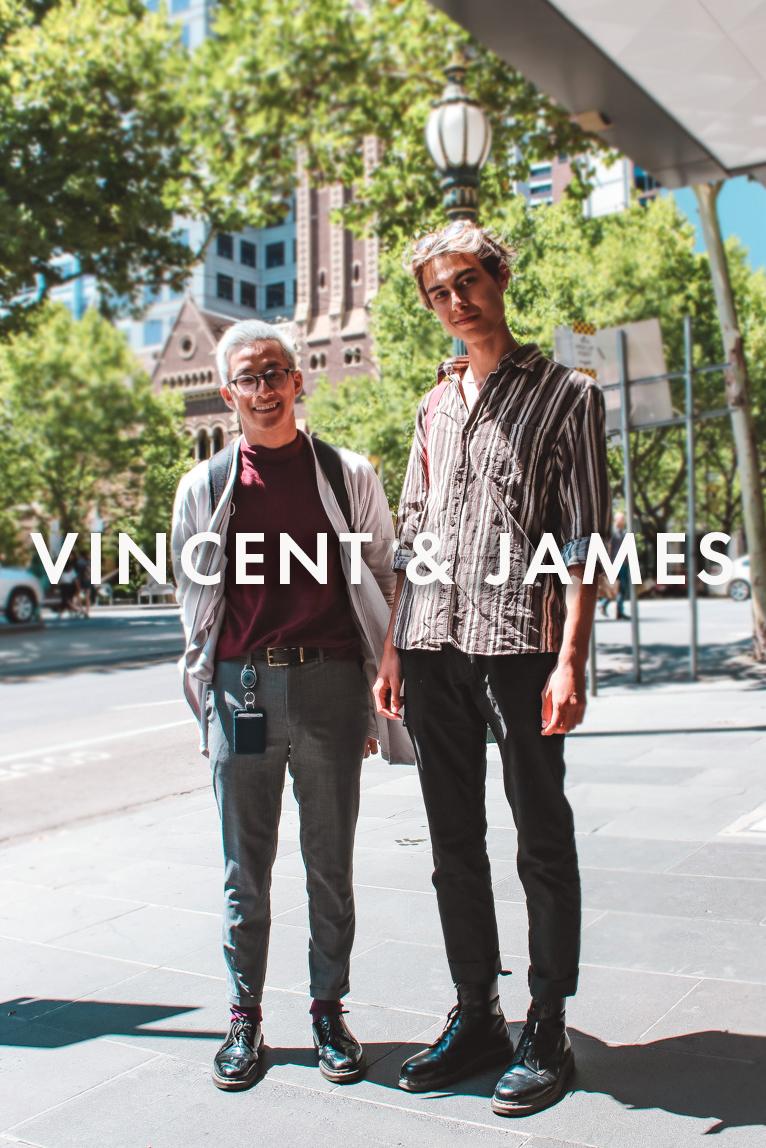 Vincent & James