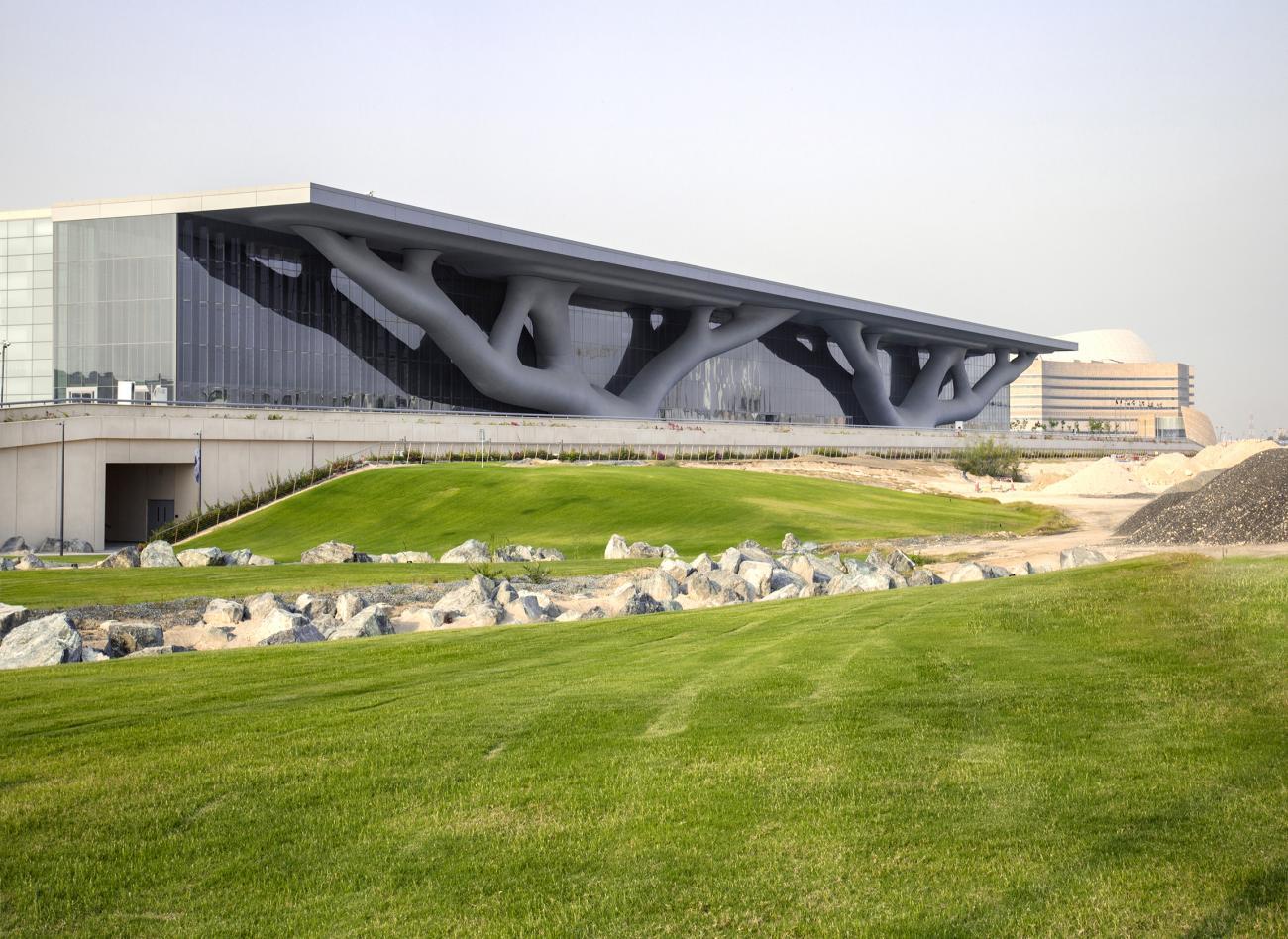 Qatar National Convention Center, photo courtesy of Hisao Suzuki