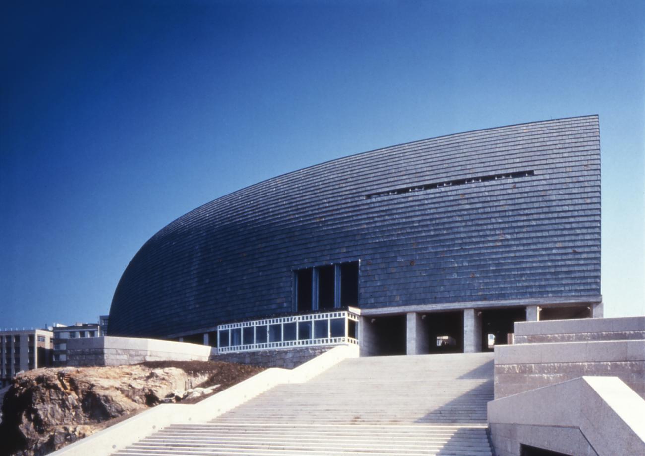 Domus: La Casa del Hombre, photo courtesy of Hisao Suzuki