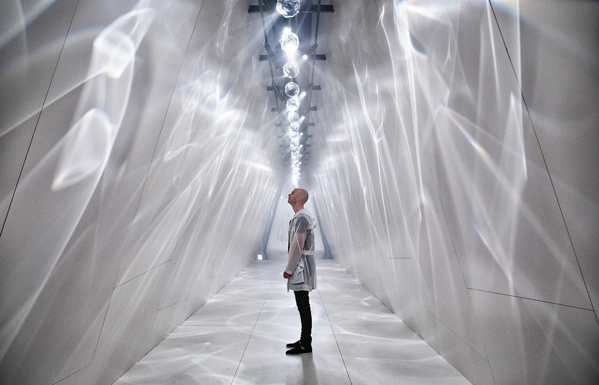 The Immersive Installation At Salone 2019 By Cosentino