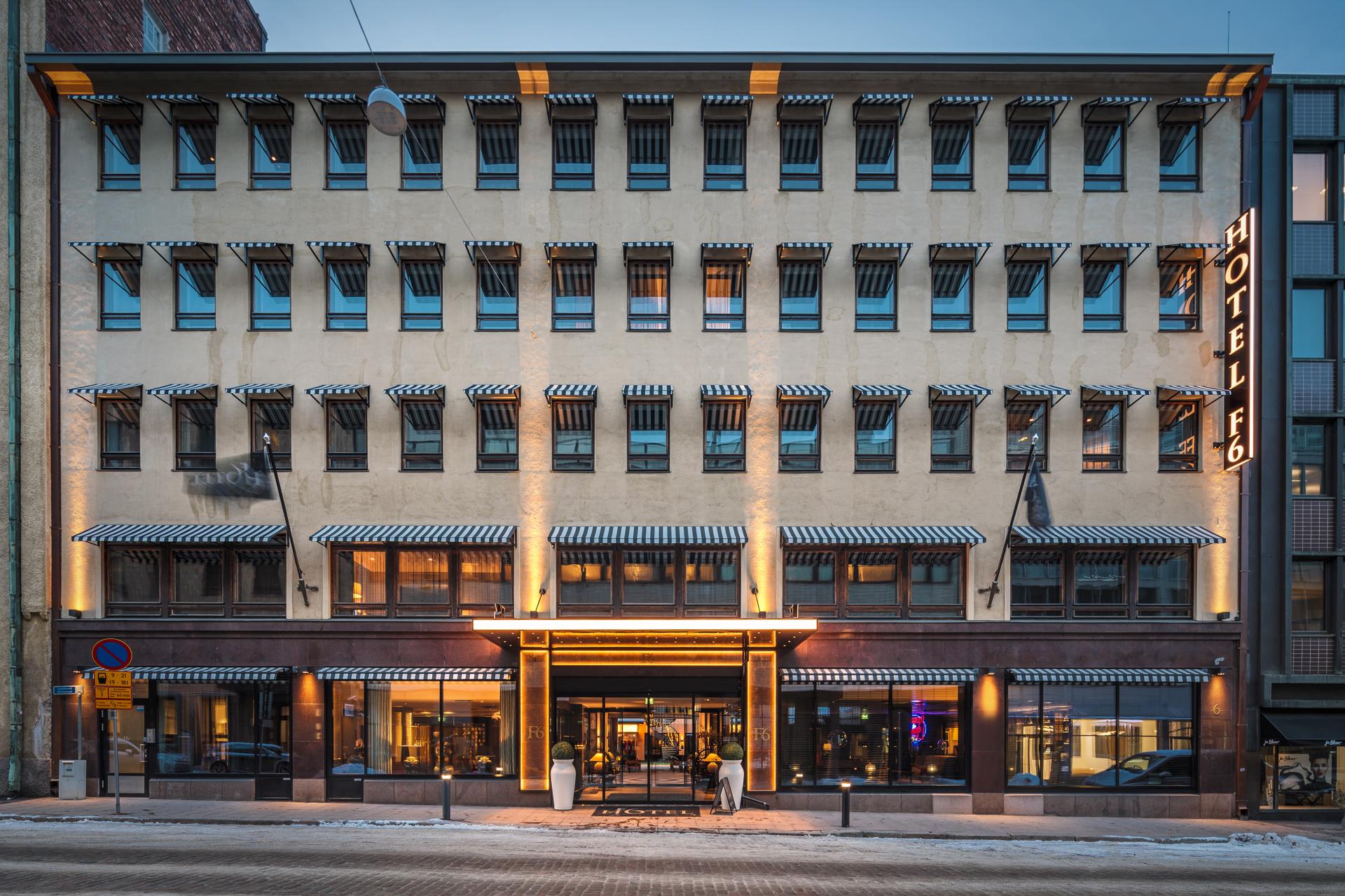 Hotel F6 / Helsinki, Finland