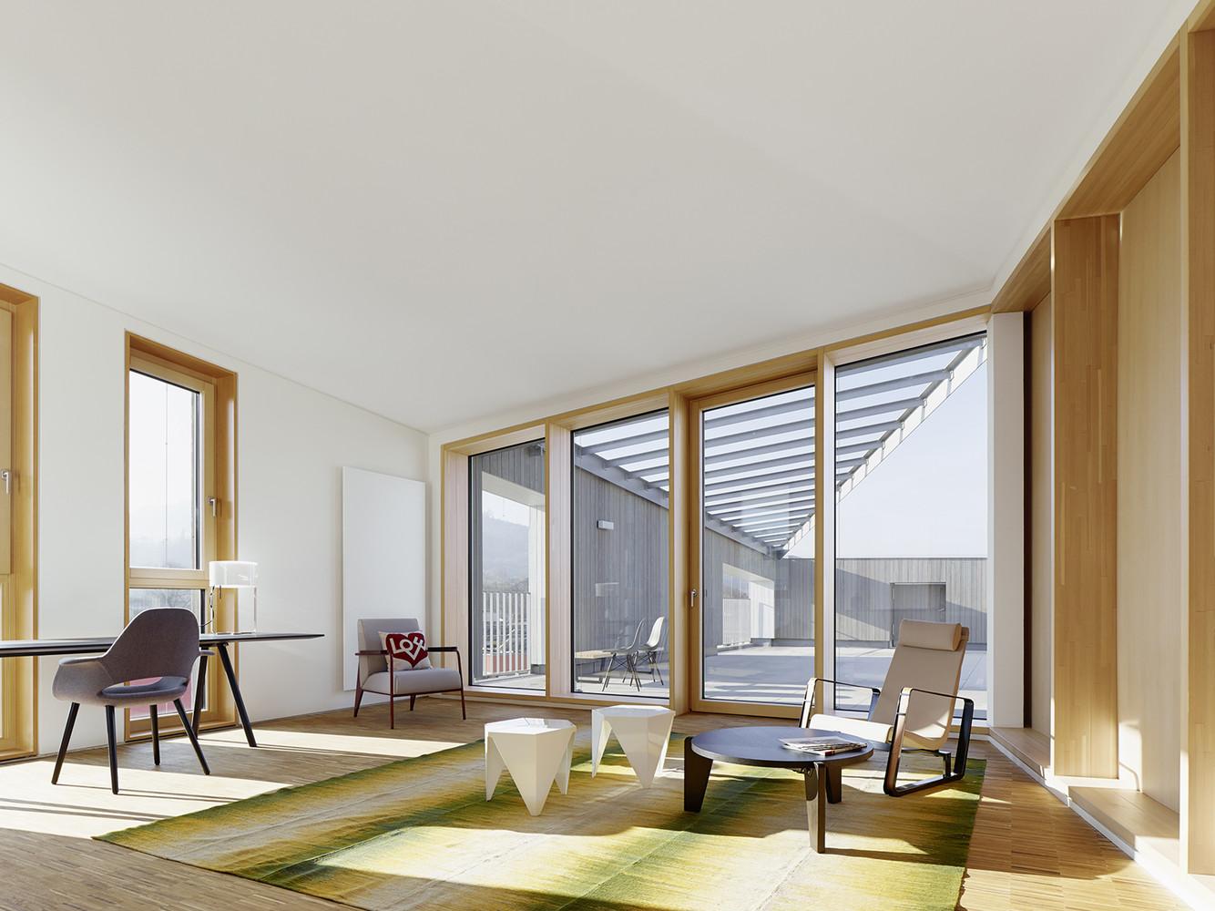 Interior architecture at Hotel Vauban. Photography by Zooey Braun