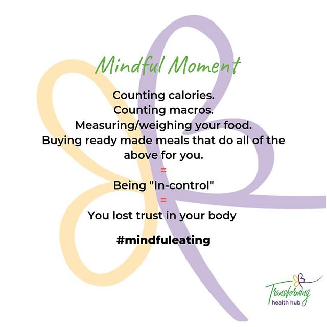 "What is Mindful Eating? It is eating with intention and attention. It brings you into the present moment, the only place that exists. When you are able to do this you are then able to access your body's internal hunger and fullness ""scale"". YOU were born with this primitive instinct!  Unfortunately your body wisdom gets lost through  internal and external influences  HOWEVER through a concept called mindful eating and transformational habit change you can access your body wisdom again ❤  How does it feel to have trust in your body wisdom?? Freedom!! ❤  Would you like to experience freedom from within?? Comment below...."