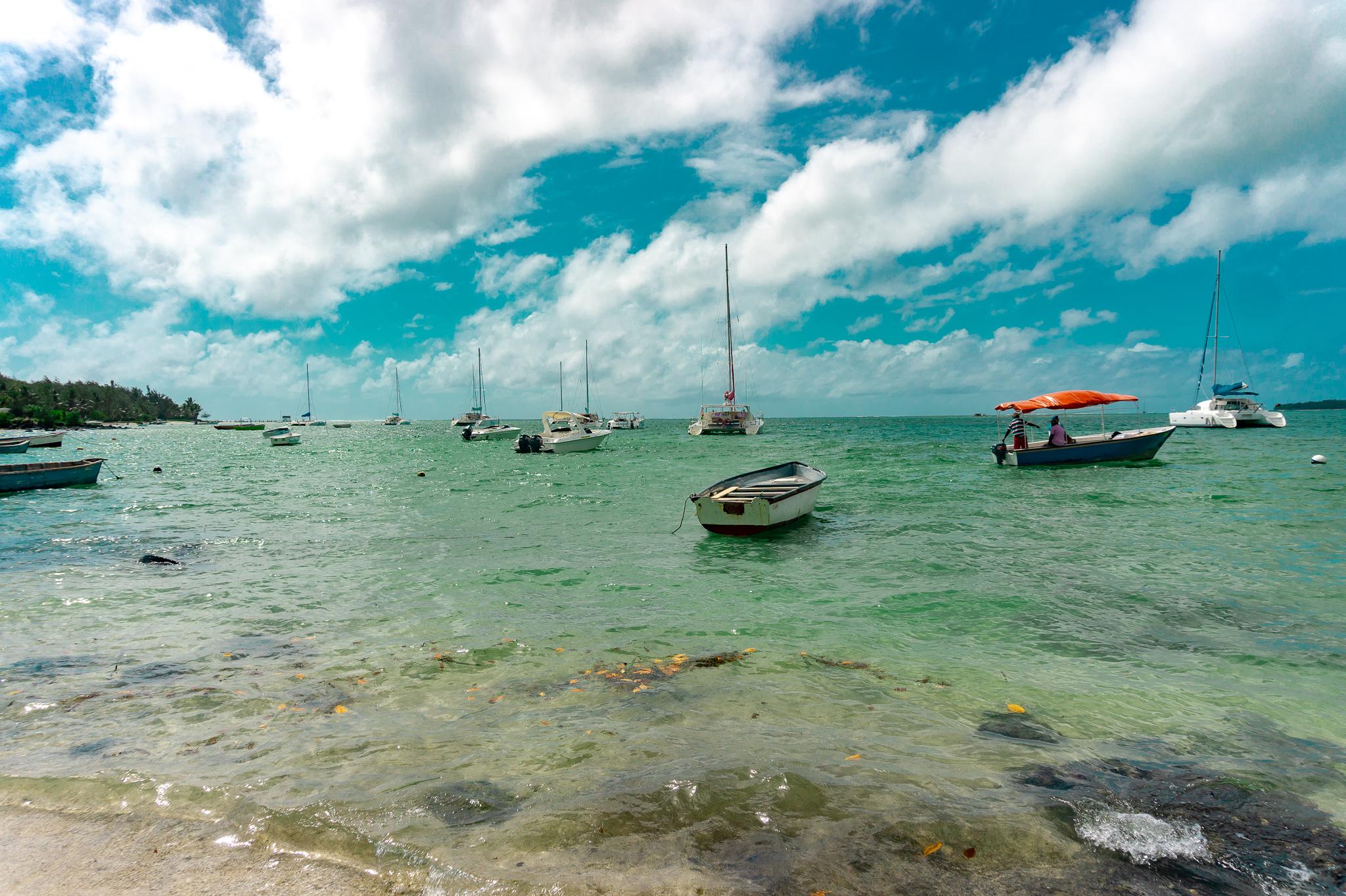 Trou D´Eau Douce Island