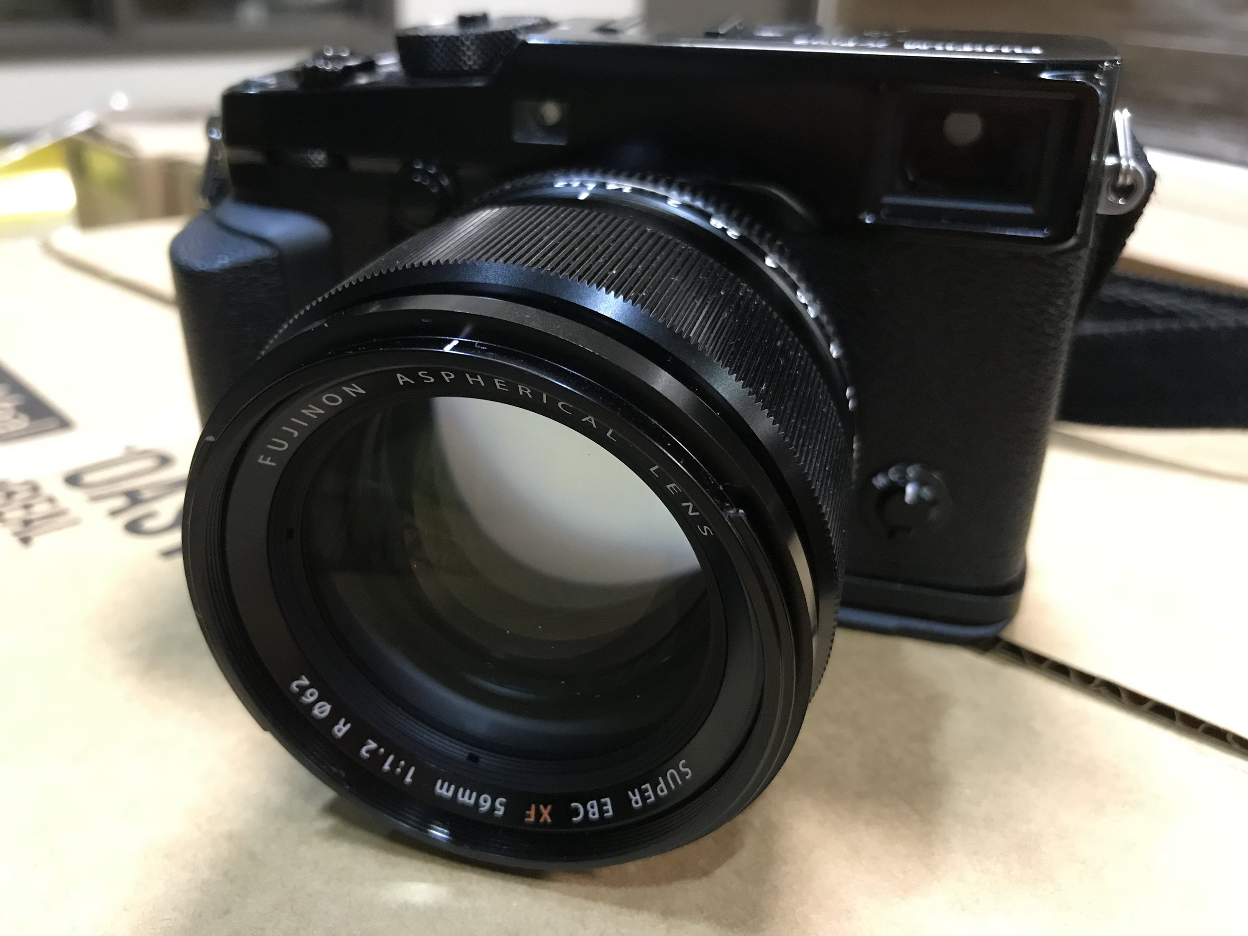 My current favorite - FujiFilm Xpro-2 with 56mm f1.2