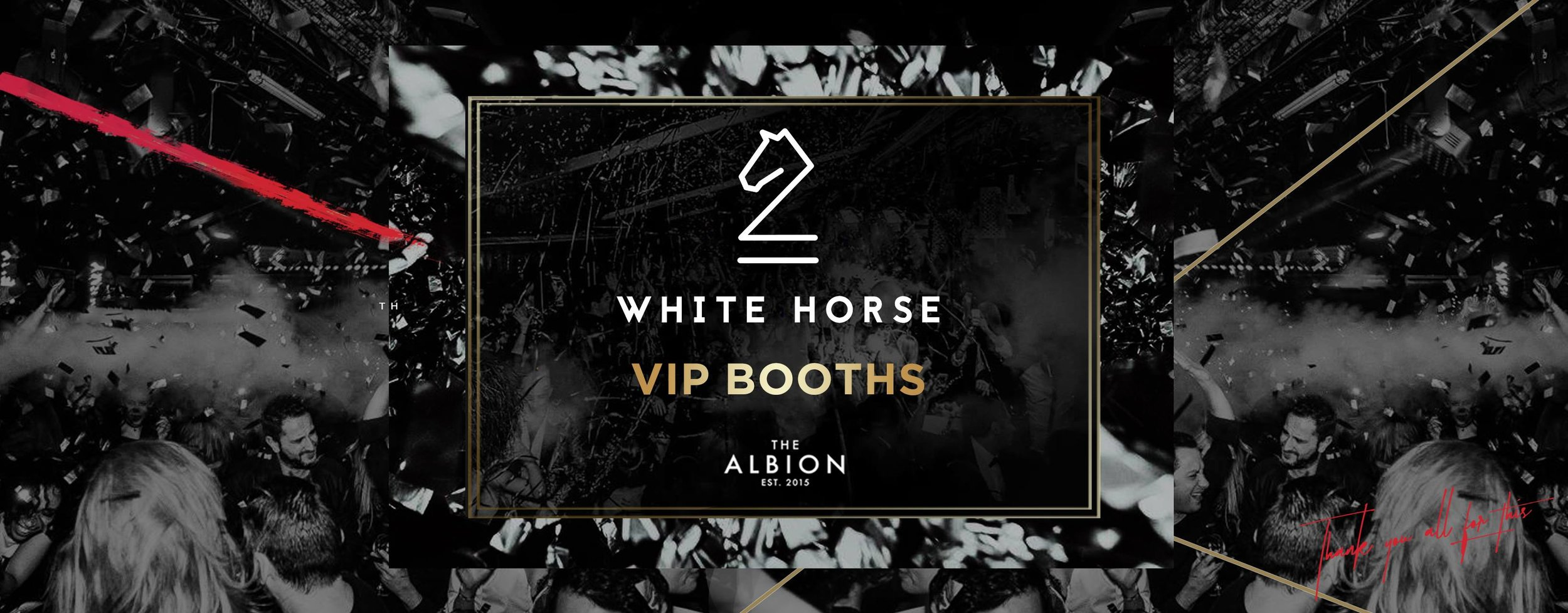 White Horse VIP Booths