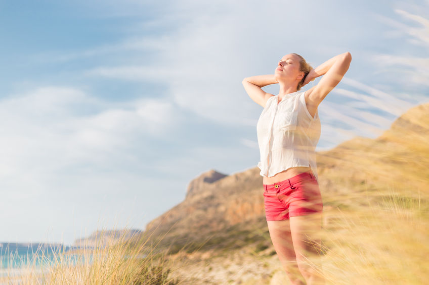Refreshed woman by seaside.jpg