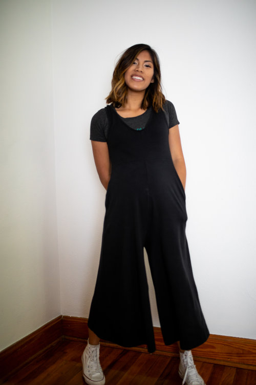 Capsule Staple Sustainable Jumpsuit Made For Mamas At All Stages Minimal Mills